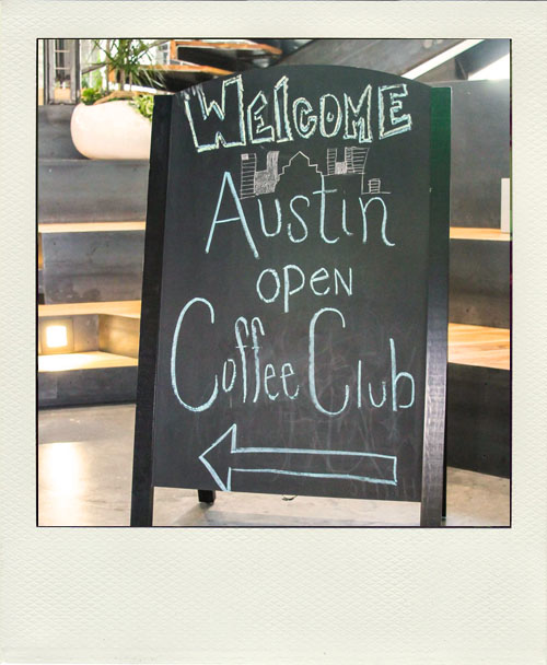 Open Coffee Austin